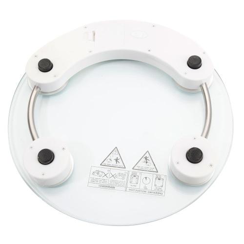 Image of 03A-180KG / 100G Hochfestes gehärtetes Glas 4-stellige LCD-Anzeige Elektronische Gewichtungsskala Transp