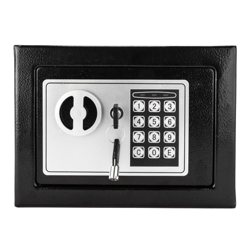 Preto seguro da caixa da placa de aço da senha eletrônica do uso da casa 17E