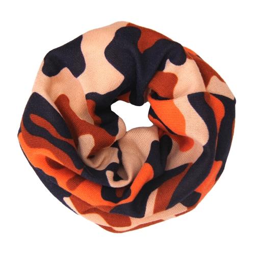 Bufanda impresa de los niños de la manera Pañuelo Kids Boy Girl Chal Unisex Invierno cálido bufandas tejidas