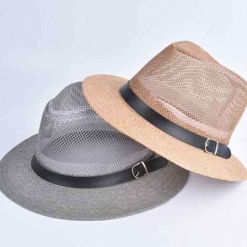 Women Spring Summer Sum Cap Hollow Out Wide-Brim Fedora Hats Bowler Floppy Straw Caps Beach Sunhats