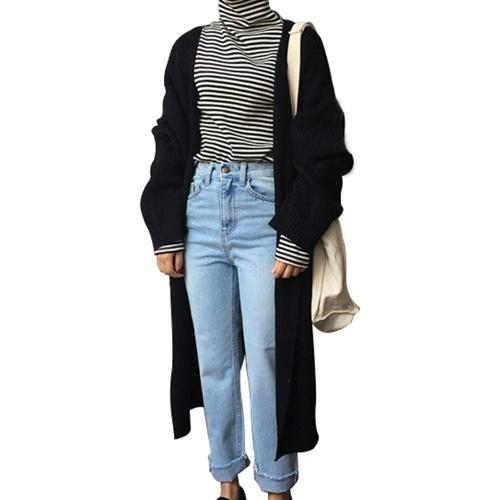 Women Oversized Long Cardigan Coat
