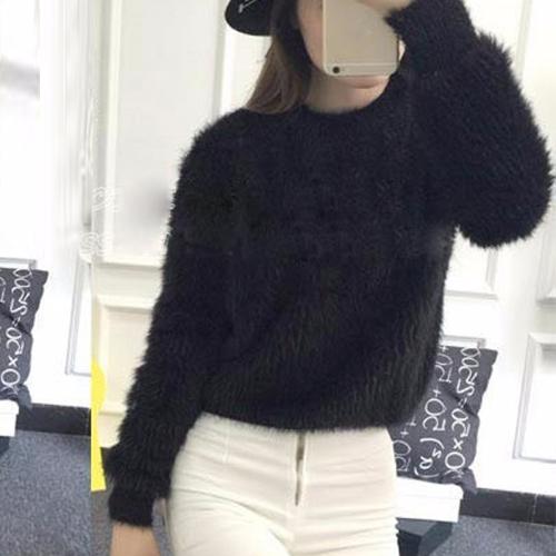 Moda damska Sweter Sweter Czapka Z Długim Rękawem Krótkie Rękawice Zimowe Z Dżinsami Z Krótkim Rękawem