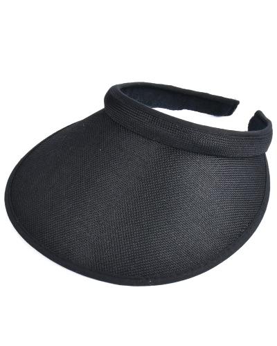 Unisex Women Men Verão Sun Visors Cap Capa Wide Wide Brim Topless Tennis Headband Headwear headwear
