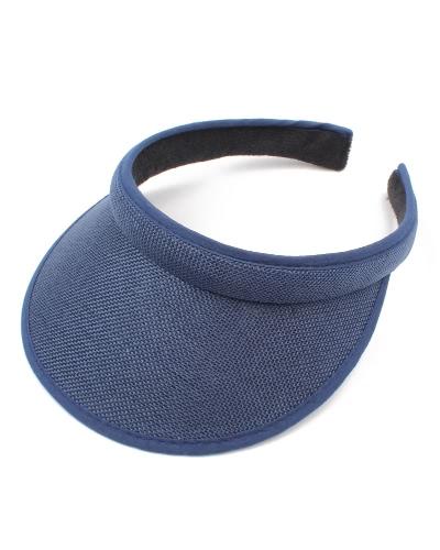 Kids Summer Sun Visors Cap Vaciar Top Ancho Amplio Brim topless Headband Niños Sombrero Headwear