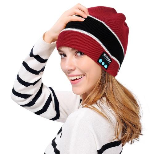 Sombrero de auriculares Bluetooth Sombrero unisex Beanie