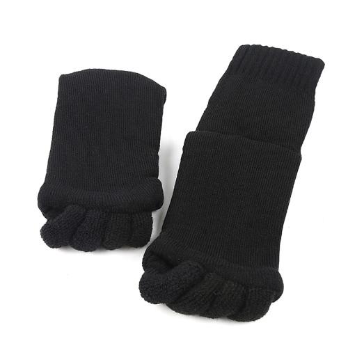 Wyrównanie Mody Hallux Valgus Pro Pielęgnacja Stóp Cion Bunion Cotton Pięć palców Toe Separator Splint Skarpetki