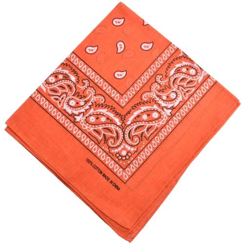 Vintage mujeres hombres bufanda cuadrada pañuelo Retro impresión Multi-colores diadema Boho bufandas