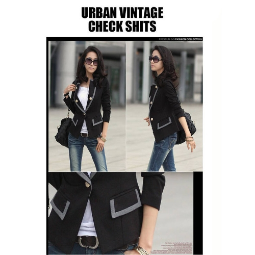 2012 Fashion Women Blazer Jacket Coat OL Casual Suit