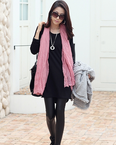 Mujeres casuales suelta t-shirt manga larga cremallera detalle Jersey Slouchy tapas largas camisa negra