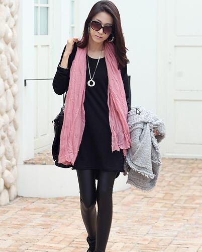 Casual Women Loose T-Shirt Long Sleeve Zipper Detail Slouchy Pullover Long Tops Shirt Black