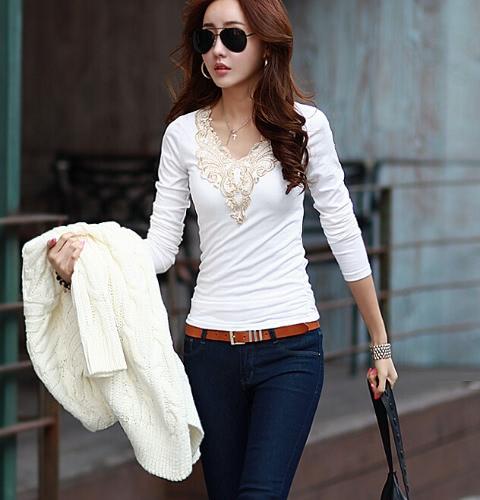 Las mujeres de moda Corea delgado