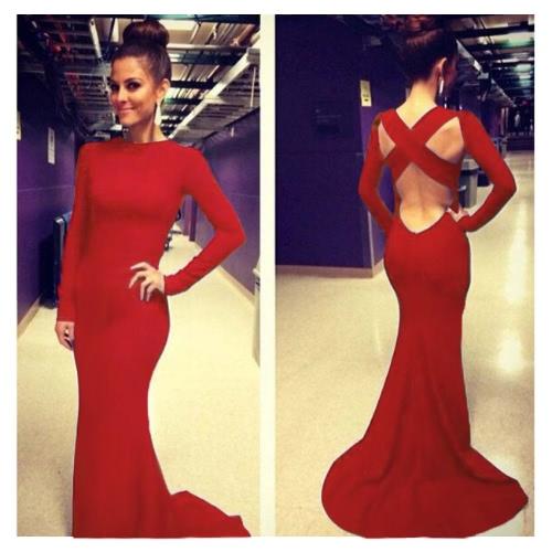 Mujeres sexy vestido cruzado sin respaldo-vestido Maxi vestido noche vestido de fiesta negro/azul/rojo