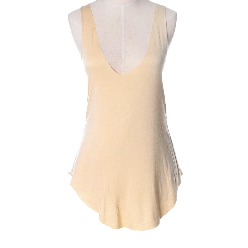 New Fashion Women Tank Top V-Neck Soft Camisole Sleeveless Casual Loose T-Shirt Vest Top
