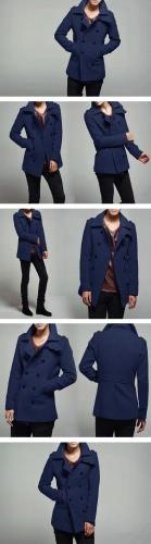 ЖЕНЯ Мужские стильные двубортные пальто куртки и пиджаки фото