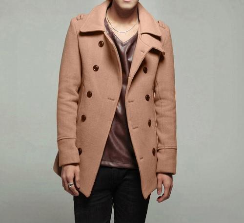 Breasted dobro elegante casaco jaqueta Taurus masculino Outwear
