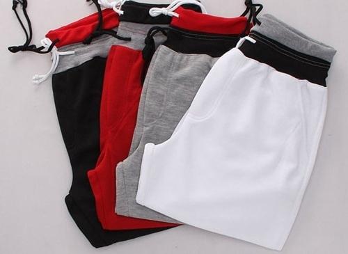 Image de Europe Fashion hommes Pantalons Sport décontractée Loose pantalon ceinture cravate épissage brassard équipée sauvage Fashion