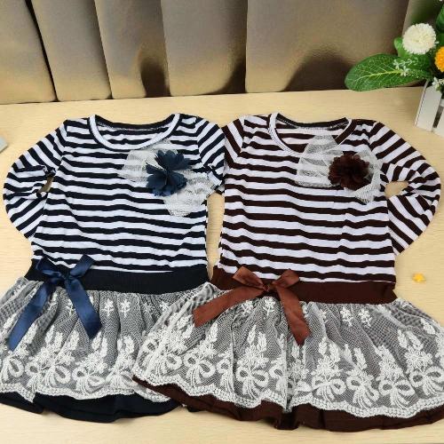 Vestido de niña de moda niños