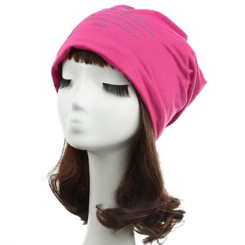 Mujeres unisex hombres Beanie sombrero Nota cinco impresión anchos Hip-Hop Dance Cool Cap Headwear