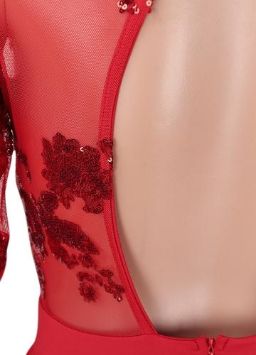 Vestido de fiesta largo sin mangas del partido del club nocturno de las mujeres atractivas del vestido maxi del partido del club nocturno sin mangas rojo / azul
