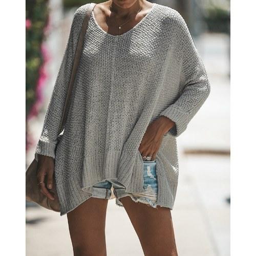 Neue Mode Winter Frauen Gestrickte Pullover