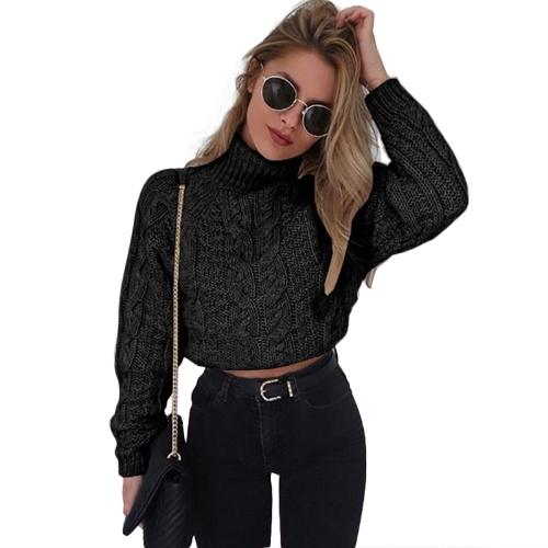 Nouveau sweatshirt tricoté femmes d'hiver