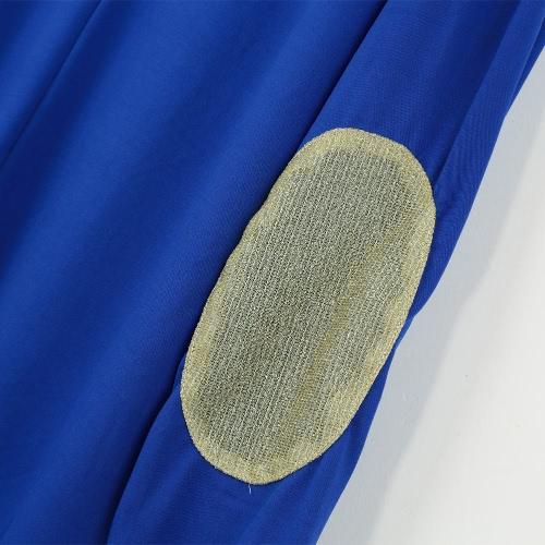 TOMTOP / Moda mulheres Cardigan aberto cortina dianteira retalhos de lantejoulas manga longa Casual blusa nova