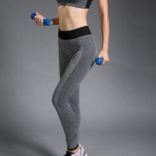 Moda mujeres Yoga deportes pantalones alto estiramiento Fitness Gimnasio Running Pantalones Leggings de ejercicio