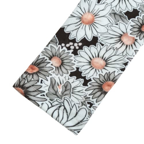 TOMTOP / Nova moda mulheres camisola Floral manga longa impressão OL magro Pullover Casual elegante Blusa Tops cinza