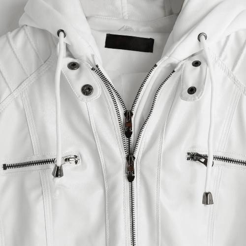 Кожаная куртка с капюшоном из натуральной кожи с капюшоном из натуральной кожи с капюшоном с капюшоном фото
