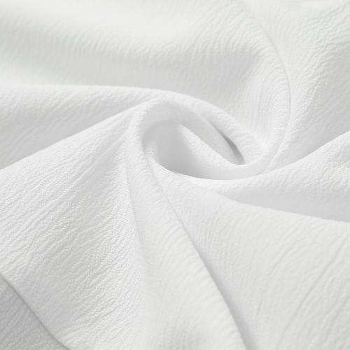 TOMTOP / New Fashion Women Vest Auto-Belt Spaghetti Strap Tassel Ruffle camisola de alças branca