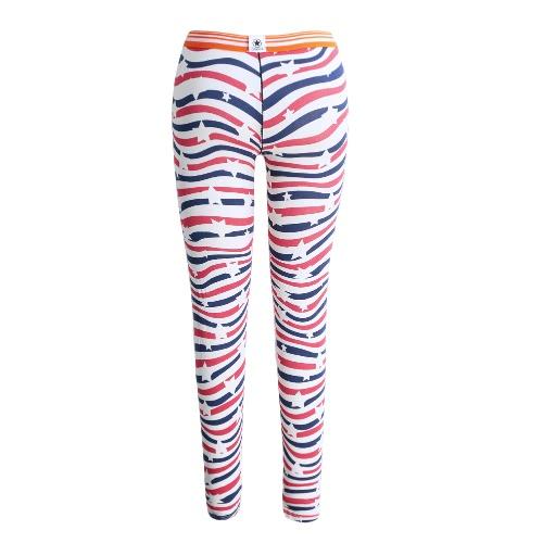 New Winter Men Long Johns Thermal Pants Underwear Print Elastic Warm Sleepwear Leggings Bottoms