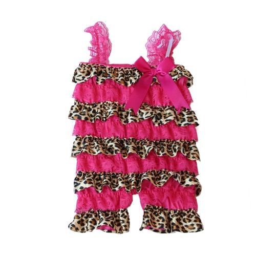Летний стиль новорожденного ребенка кружева рябить Петти комбинезон для малышей девочек моды рождения рождения ползунки одежды