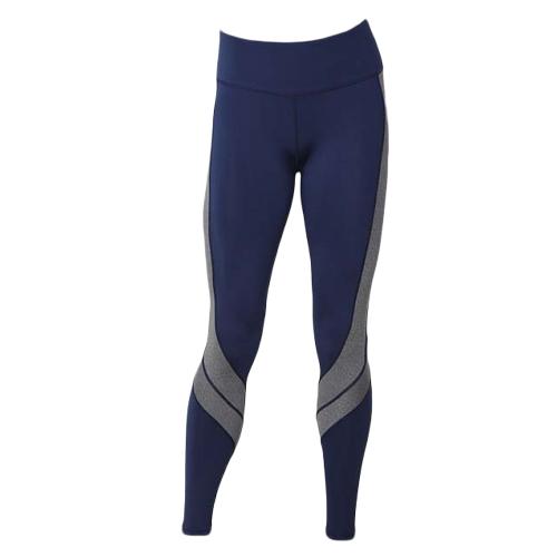 Mujer Deportes Yoga Pantalones Leggings Color Block Gym Fitness Pantalones de entrenamiento Pantalones Skinny Leggings Marrón / Blanco / Gris