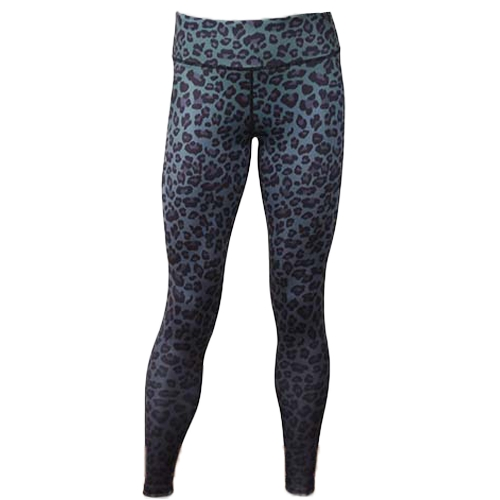 Las mujeres se divierten Yoga Leggings Leopard Print Elástico Ropa deportiva Fitness Workout Skinny Bodycon Pants Panty Trousers
