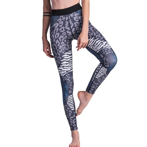 Kobiety Sportowe Legginsy Joga Sportowe Stroje Sportowe Trening Fitness Skinny Bodycon Rajstopy Spodnie Spodnie