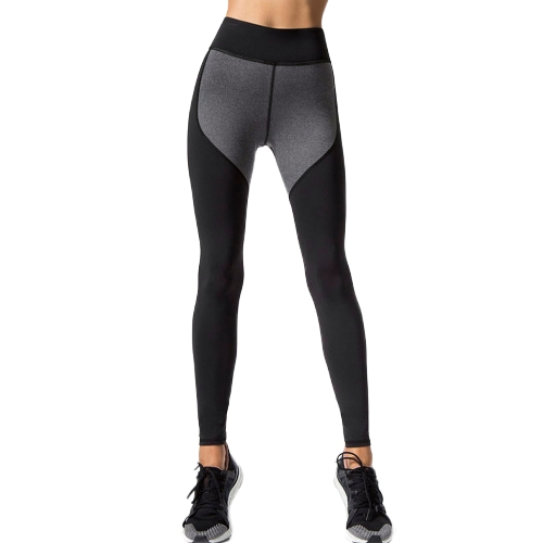 Frauen Sport Yoga Leggings Spleißen Farbe Stretchy Sportswear Fitness Workout Dünne Bodycon Hosen Hosen