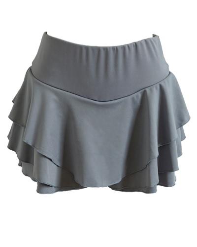 新しいファッション女性のミニプリーツレイヤスカートマイクロ寝間着ラインハイウエストヴィンテージパーティースイングスカート