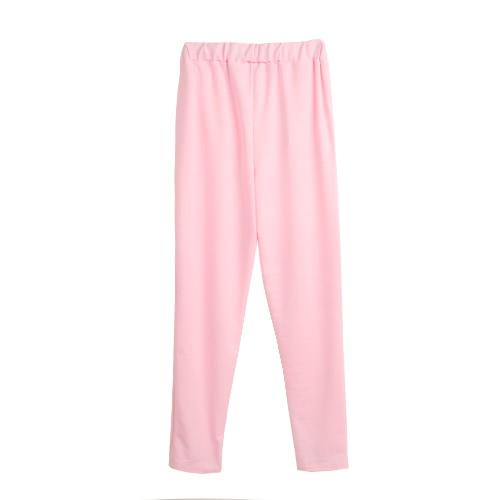 Mujeres Pantalones deportivos Yoga Bolsillos inclinados Running al aire libre Casual Ropa de deporte Pantalones Leggings Azul / Rosa