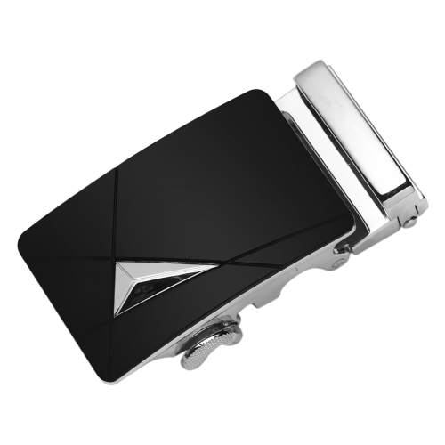 Moda Diseño Moderno Correa de Cuero Cinturón de Negocios Casual Aleación de Zinc Hebilla Automática Masculina Pantalón Pretina para Hombres Faja Cintura Ancha