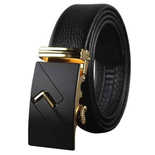 Fashion Modern Design Business Casual Leather Strap Belt