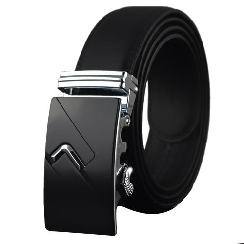 Cinturón de correa de cuero casual de negocios moderno diseño moda