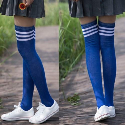 Chaussettes basses au genou pour écolière