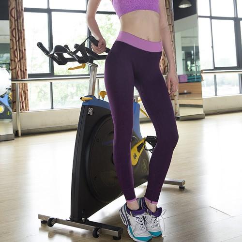 Leggings moda donne Yoga sport pantaloni alta Stretch Fitness palestra Running pantaloni esercizio