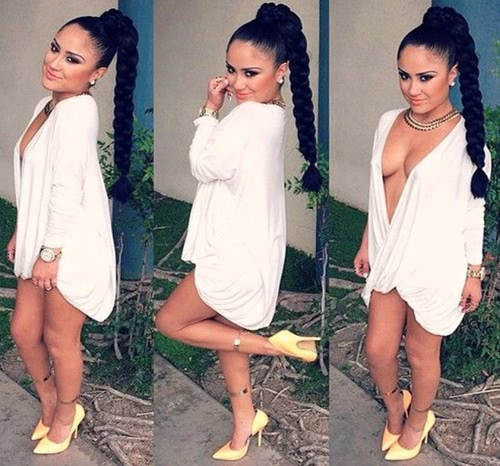 Mujeres de moda Sexy blusa Cruz acanalada frontal profundo escote en v sumergieron nuevamente Irregular dobladillo manga larga camisa de partido sólido