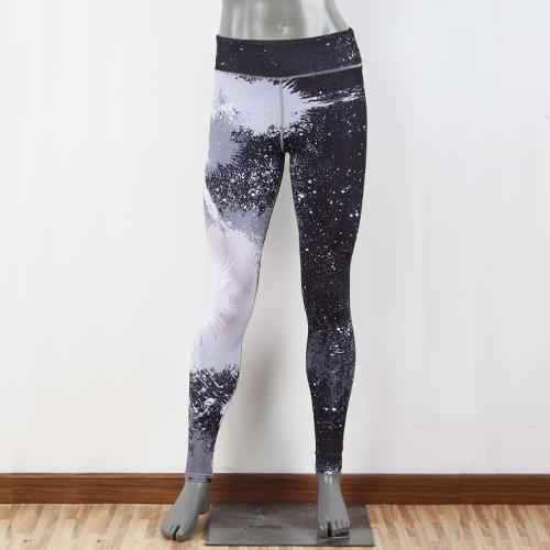 Sexy Women Slim Sport Yoga Leggings Special Print Skinny Pencil Pants Trousers