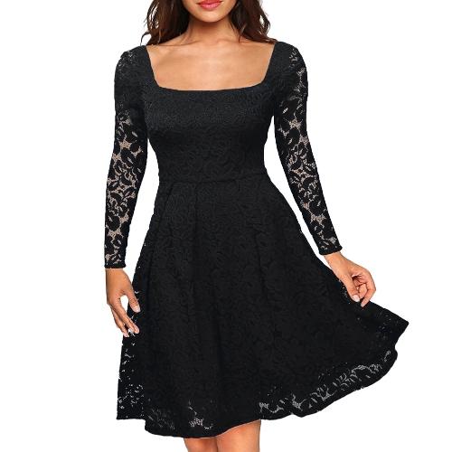 """Sukienki damskie z długimi rękawami w kwiaty, dekolt w kształcie litery """"A"""", boczny zamek plus rozmiar wieczorowej sukni ślubnej"""