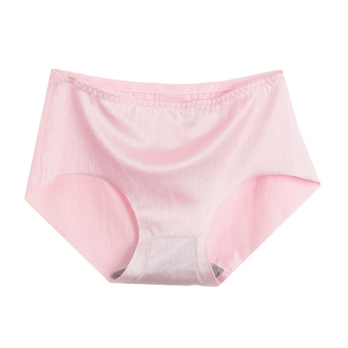 New Sexy Frauen-nahtlose Schlüpfer Solid Color Low-Rise Briefs Unterwäsche Damen Vertrauten Dessous