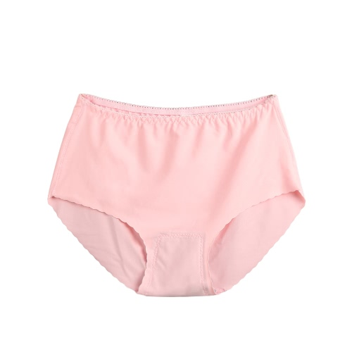Sexy Women Seamless Briefs Ultra-thin Panties Solid Lingerie Underpants Underwear