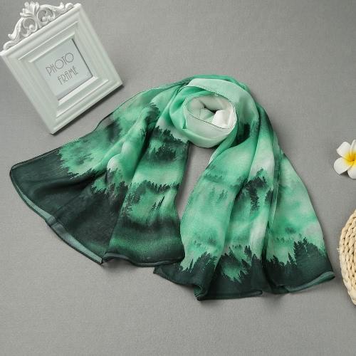 Mujeres largo mantón de la bufanda