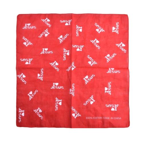 Nuevos Hombres Mujeres Unisex Bufanda Cuadrado Bufanda Carta Impresión Elegante Casual Jeans Bufandas Bufandas